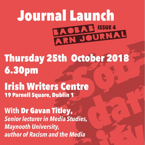 Book Launch and Workshop: Anti-Racism Network Ireland