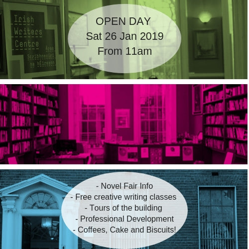 Open Day Irish Writers Centre 2019 Free Writing Classes Dublin