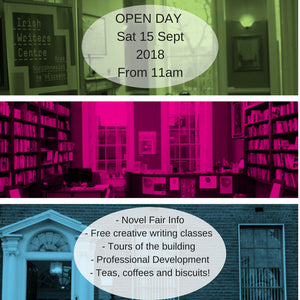 Open Day Irish Writers Centre 2018 Free Writing Classes Dublin