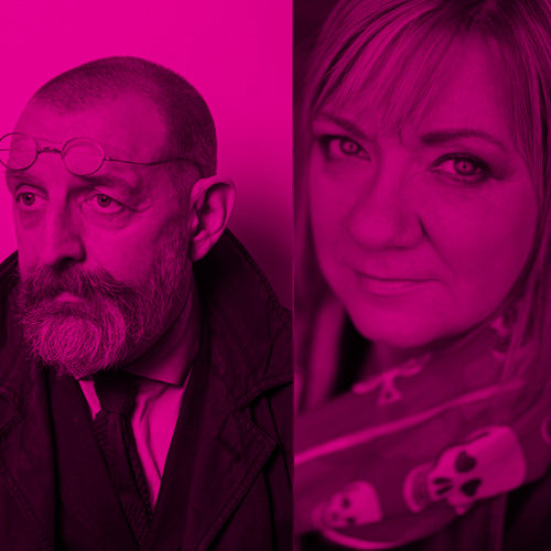 Ian Sansom and Louise Phillips Crime Writing