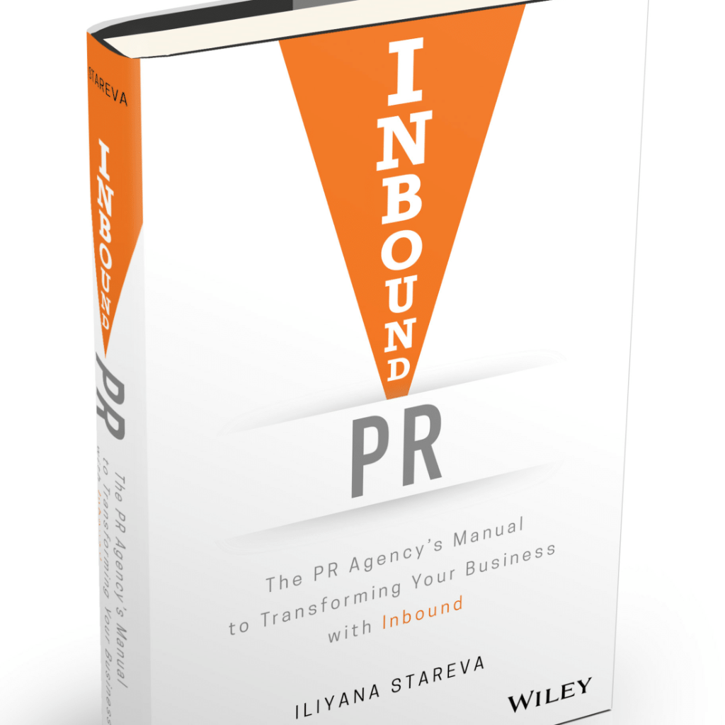 Book Launch: Inbound PR by Iliyana Stareva
