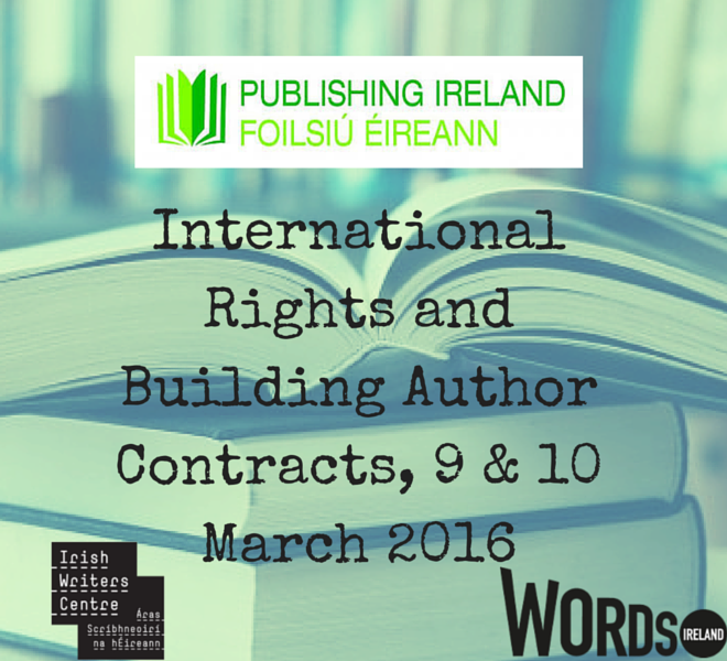 Publishing Ireland International Rights and Building Author Contracts