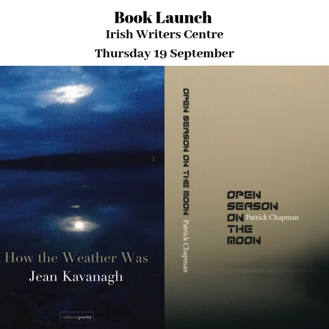 Book launch: Open Season on the Moon & How the Weather Was