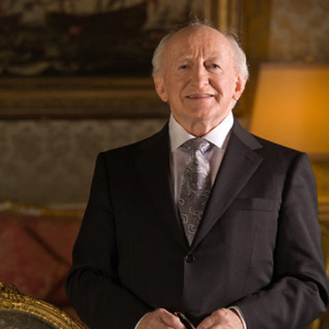 Our Patron President Michael D Higgins