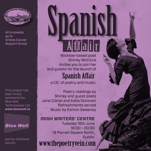 Launch: Spanish Affair: A CD of Poetry & Music by Shirley McClure