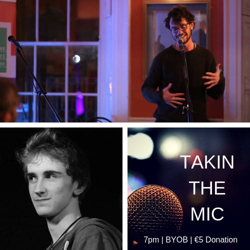 Takin' the Mic with Guest MC Cormac Fitz and Guest Performer Stephen Clare