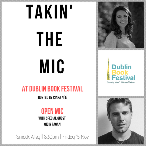 Takin' The Mic at Dublin Book Festival