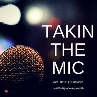 Takin the Mic with Guest MC Clara Rose Thornton