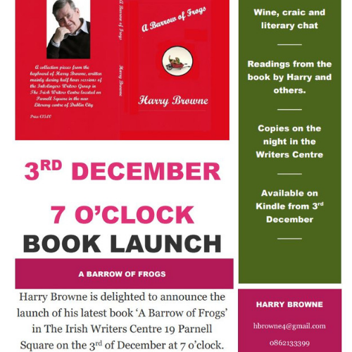 Book Launch: Harry Browne