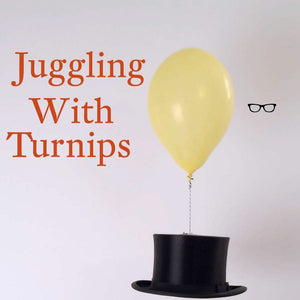 Book Launch: Juggling with Turnips by Karl MacDermott