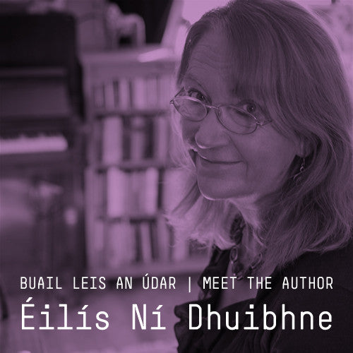 Meet the Author | Buail leis an Údar: Liam Mac Cóil