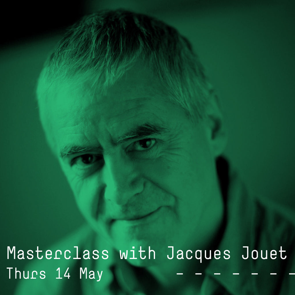 Masterclass with Jacques Jouet