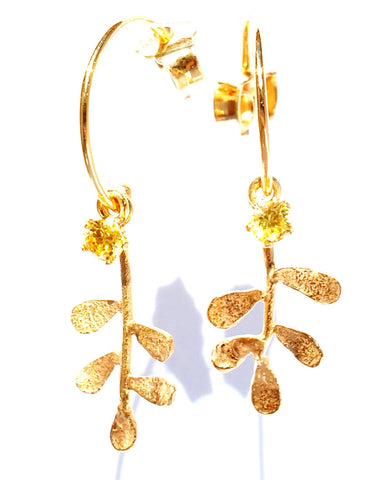 09. Sophora Hoop Earrings