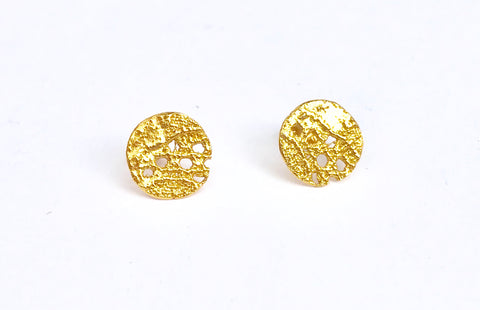 07. Lazy Lace Stud Earrings