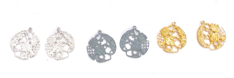 08. Addition to Lazy Lace Stud Earrings