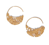 01. Lazy Lace Hoop Earrings Large