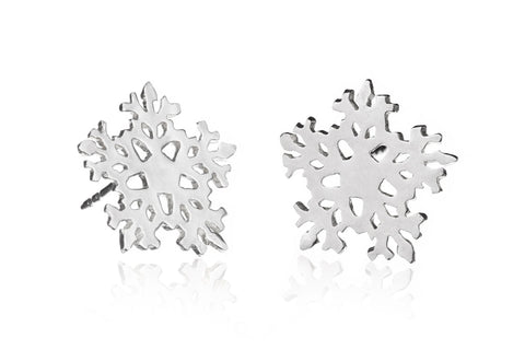 Large Sowflake Earrings