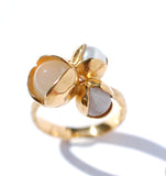 01. Triple Bud Floret Large Ring