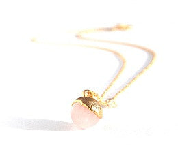 02. Rose Quartz Necklace