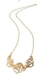01.Wild Rose Tripple Necklace