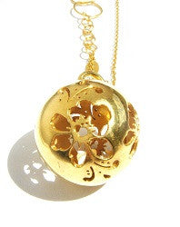 06.Large Flowersphere Necklace