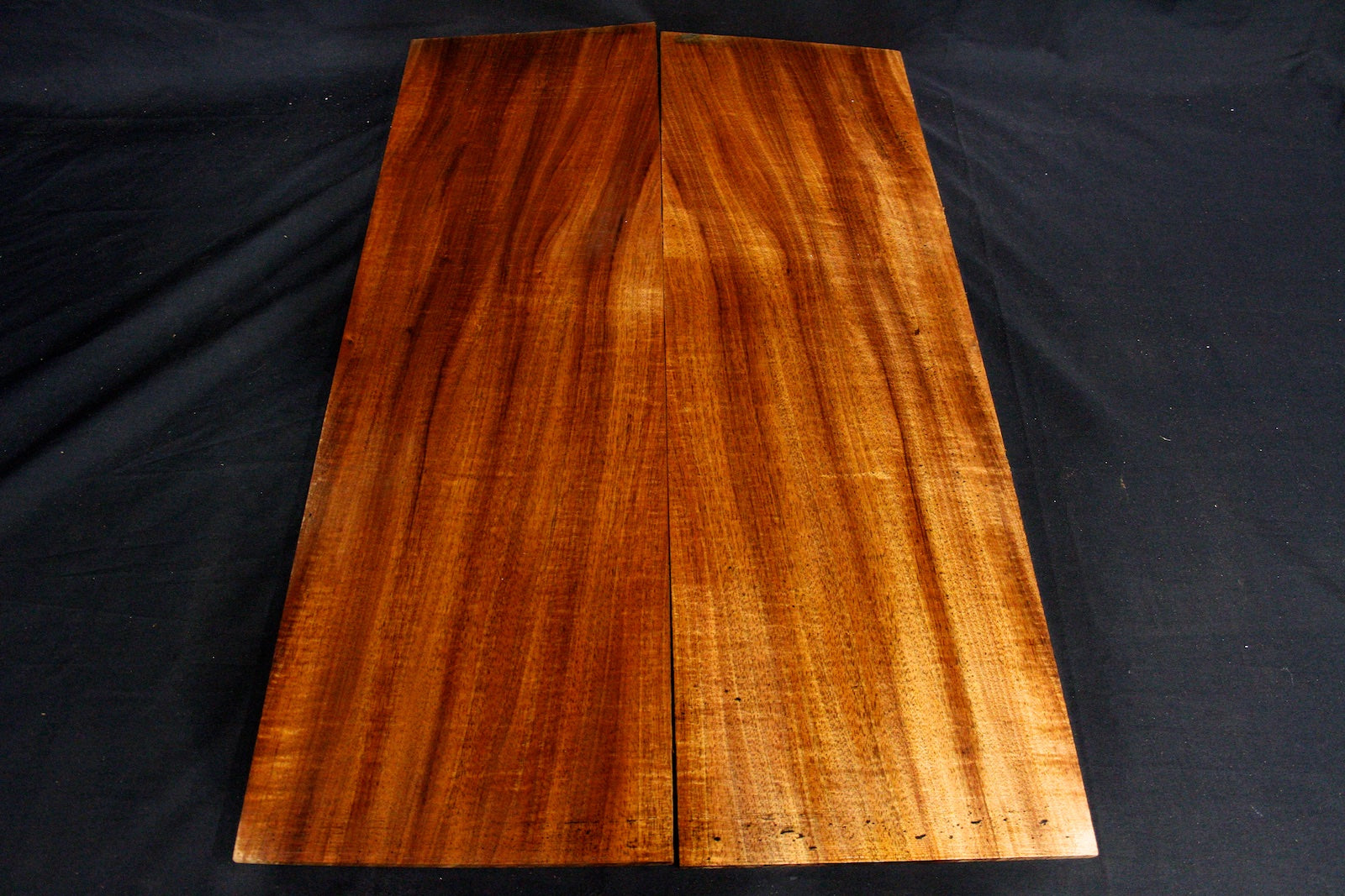 Tasmanian Blackwood Figured Matched Pair