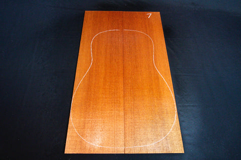Australian Red Cedar Acoustic Guitar Soundboard