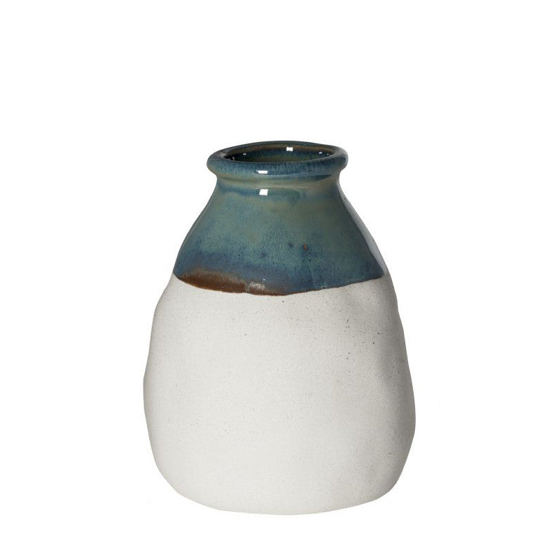 Clay dipped vase by General Eclectic