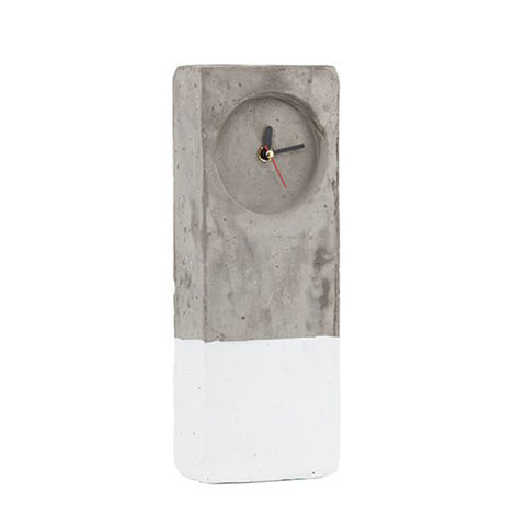 Concrete Clock by General Eclectic