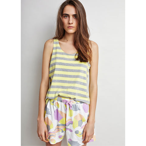 Sunshine Stripe Singlet by Alas