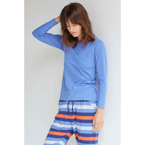 Cornflower Blue Long Sleeve Tee by Alas