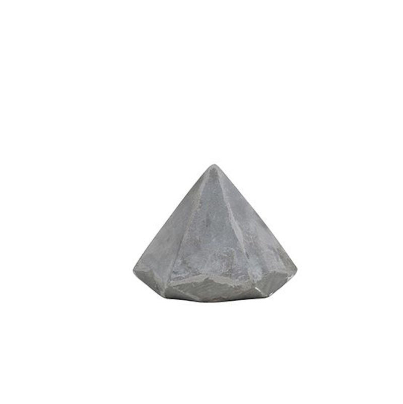 Cement Gem Diamond Paper Weight by General Eclectic