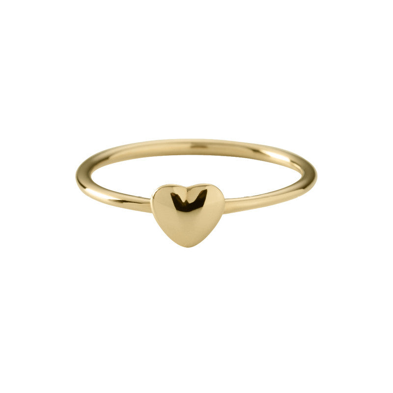 KA Fines by Kirstin Ash Tiny Heart Gold Vermeil Ring