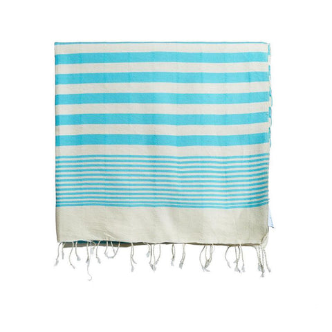 Turkish Beach Towel by Selo and Salt | Turqouise