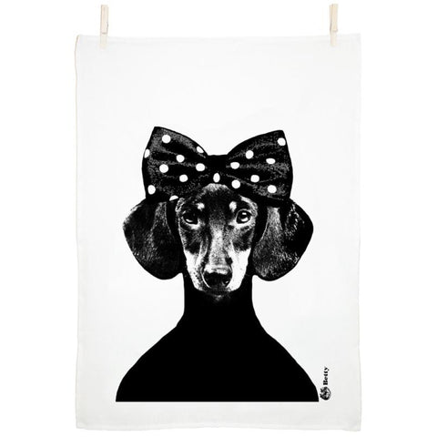 Betty Tea Towel by Studio Lisa Bengtsson