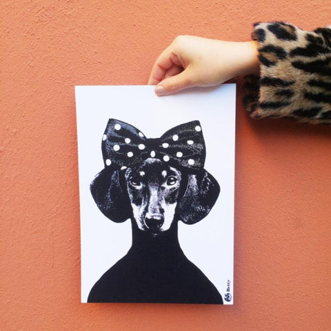 Betty A3 Wall Print by Studio Lisa Bengtsson