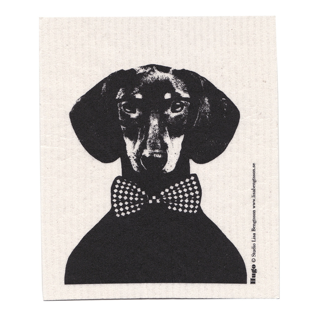 Studio Lisa Bengtsson Dachshund Sausage Dog Dishcloth