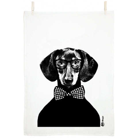 Hugo Tea Towel by Studio Lisa Bengtsson