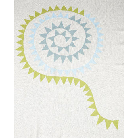 Bunting Boy Baby Blanket by Indus Design