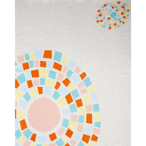 Circle of Life Baby Blanket by Indus Design