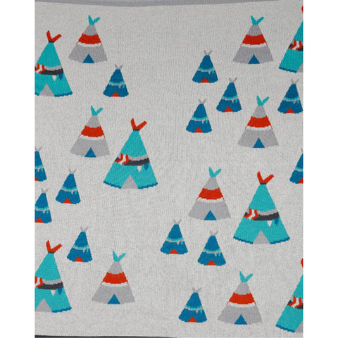 Teepee Baby Blanket by Indus Design