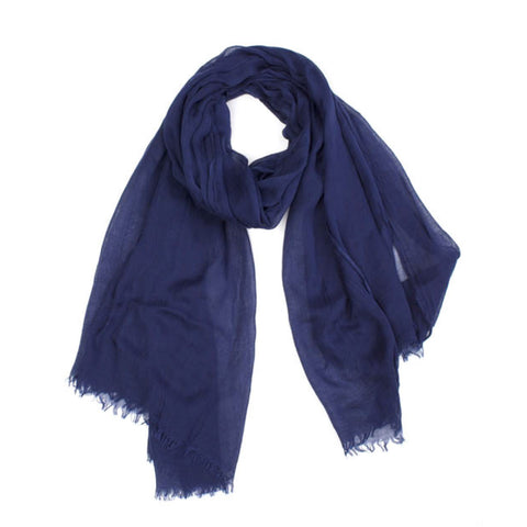 Indigo Weave Scarf by Indus Design