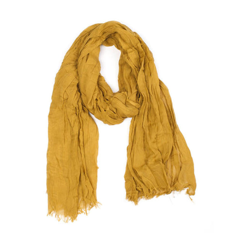 Mustard Weave Scarf by Indus Design