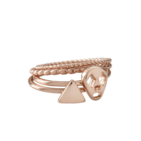 Triangle Ring by Kirstin Ash | Rose Gold