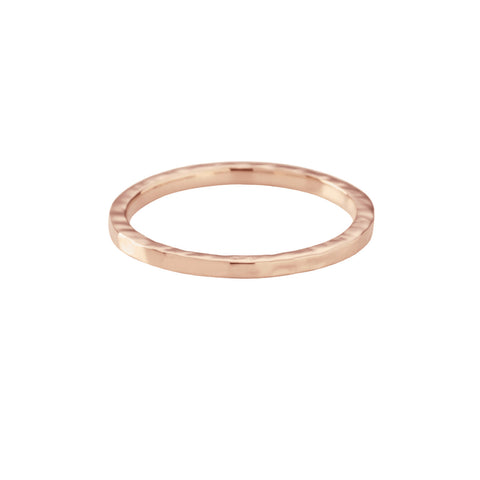 Texture Ring by Kirstin Ash | Rose Gold