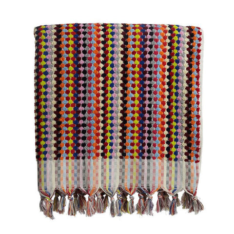 Spotted Luxury Turkish Towel by Selo and Salt | Multicolour
