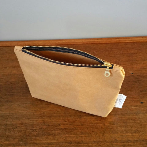 Washable Paper Accessory Bag by Made by Frank