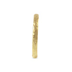 9ct yellow gold ring handmade in london - Paul Magen