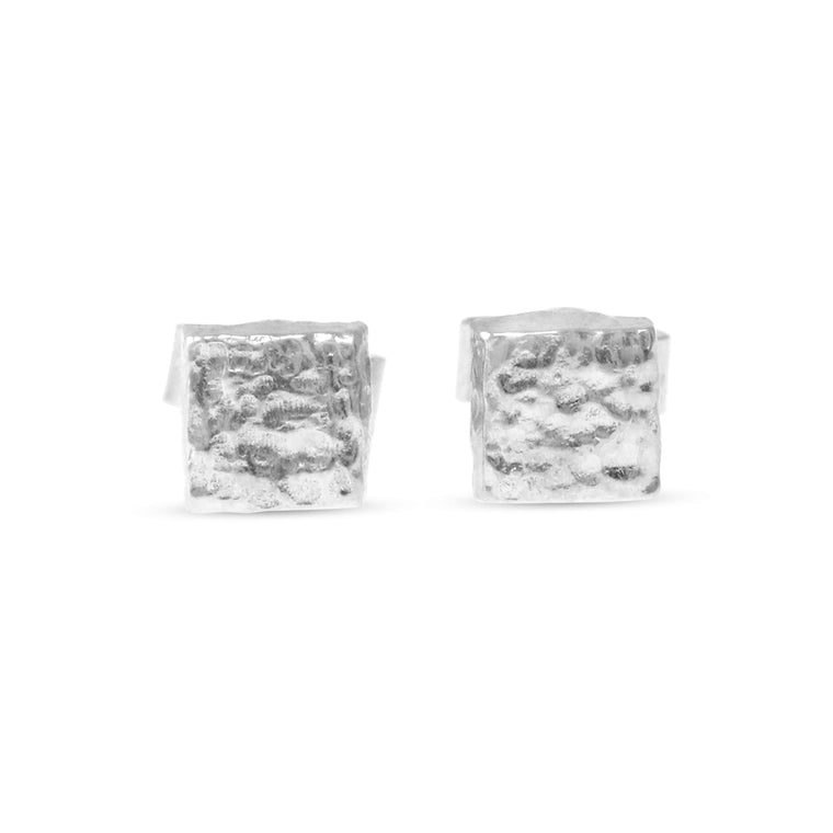 Planar earrings in sterling silver