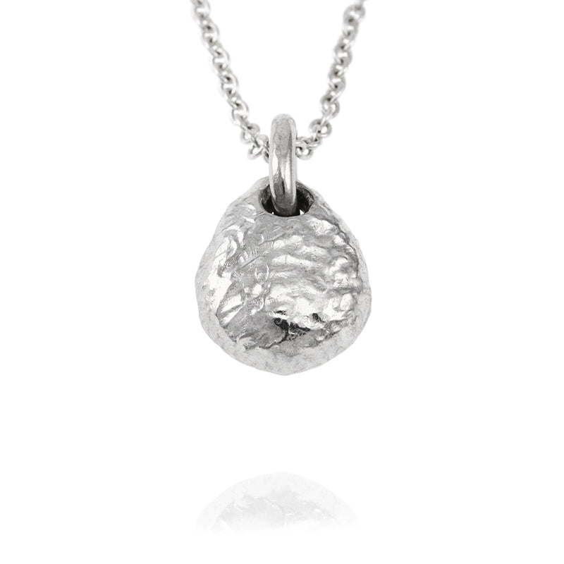 Sterling silver handmade pendant on a chain. - Paul Magen